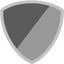 Shield Icon Grey