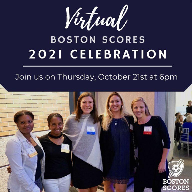 2021 Scores Celebration, Save the Date Virtual